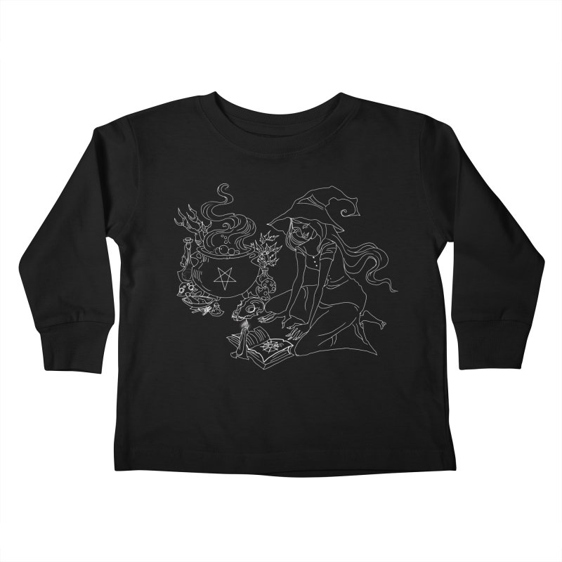 I put a spell on you Kids Toddler Longsleeve T-Shirt by marpeach's Artist Shop