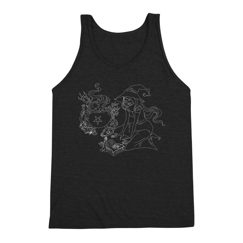 I put a spell on you Men's Triblend Tank by marpeach's Artist Shop