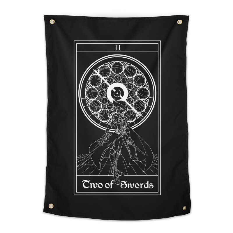 Two of Swords Home Tapestry by marpeach's Artist Shop