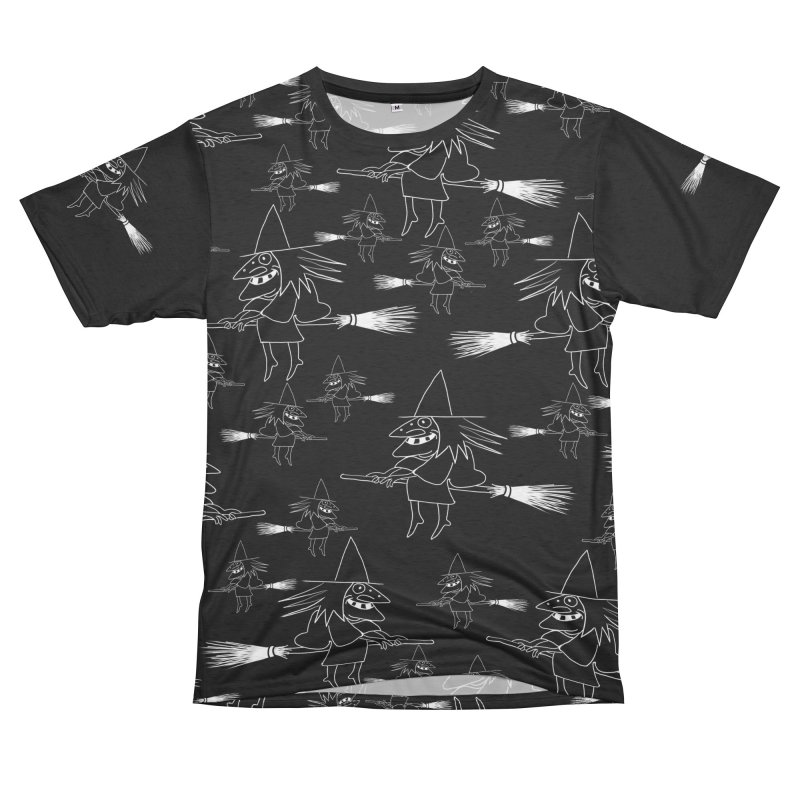 Broomsticks traffic Women's Unisex French Terry T-Shirt Cut & Sew by marpeach's Artist Shop