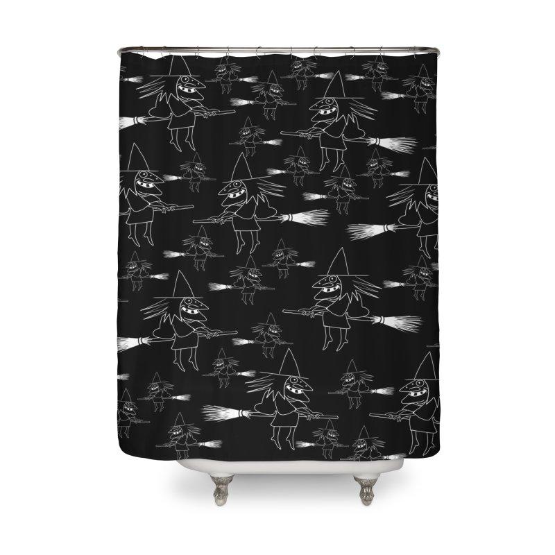 Broomsticks traffic Home Shower Curtain by marpeach's Artist Shop