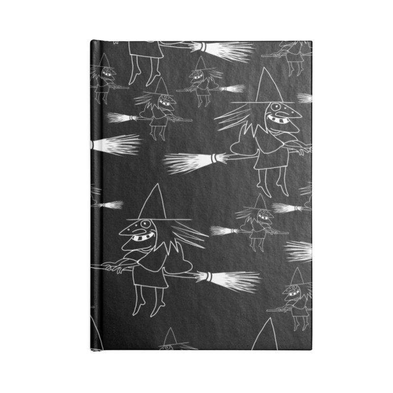 Broomsticks traffic Accessories Notebook by marpeach's Artist Shop