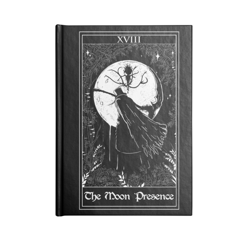 The Moon Presence Accessories Lined Journal Notebook by marpeach's Artist Shop