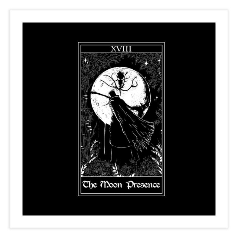 The Moon Presence Home Fine Art Print by marpeach's Artist Shop