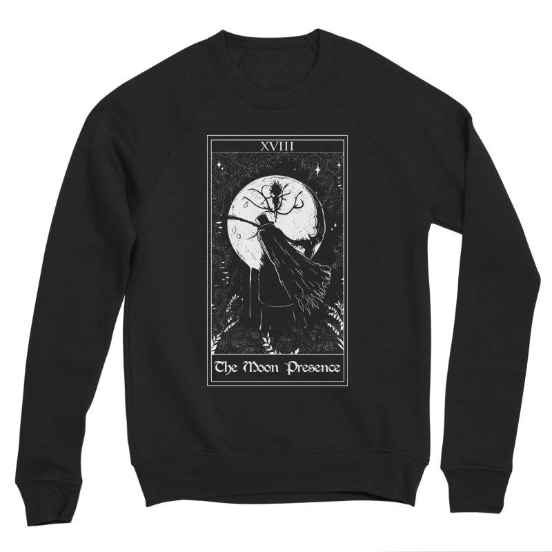 The Moon Presence Men's Sponge Fleece Sweatshirt by marpeach's Artist Shop