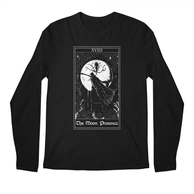 The Moon Presence Men's Regular Longsleeve T-Shirt by marpeach's Artist Shop