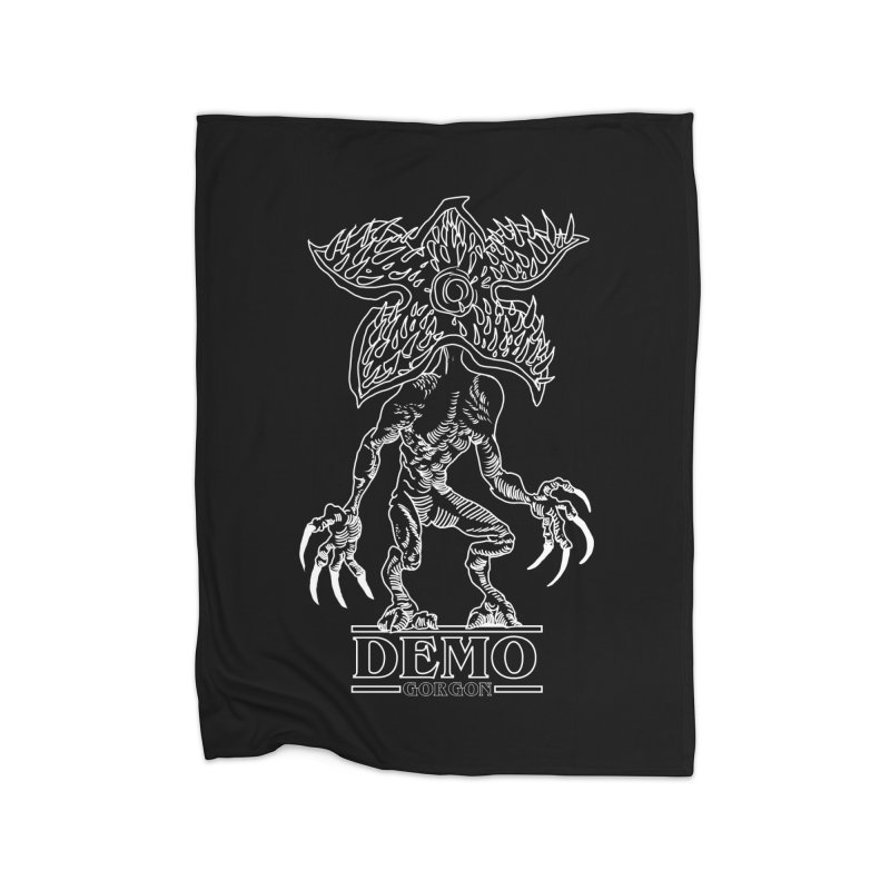 Demogorgon Home Fleece Blanket Blanket by marpeach's Artist Shop