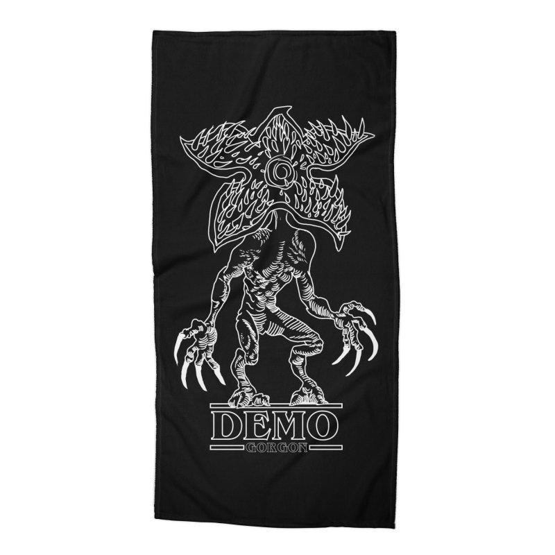 Demogorgon Accessories Beach Towel by marpeach's Artist Shop