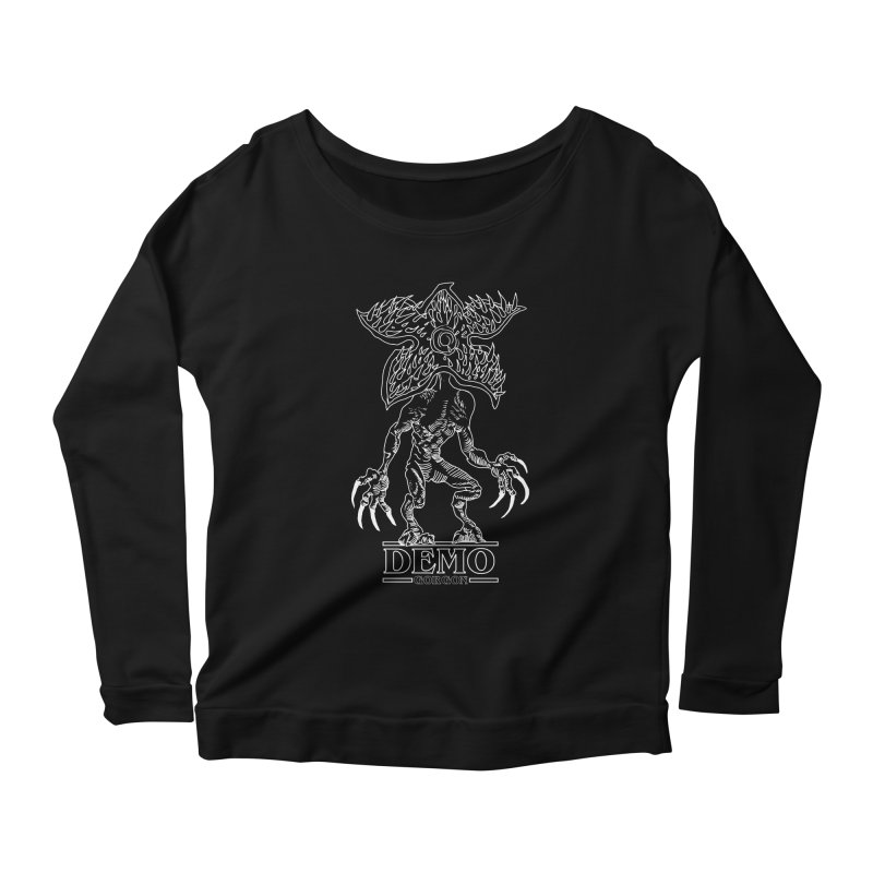 Demogorgon Women's Longsleeve T-Shirt by marpeach's Artist Shop