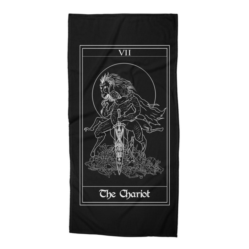 Ludwig The Accursed Accessories Beach Towel by marpeach's Artist Shop