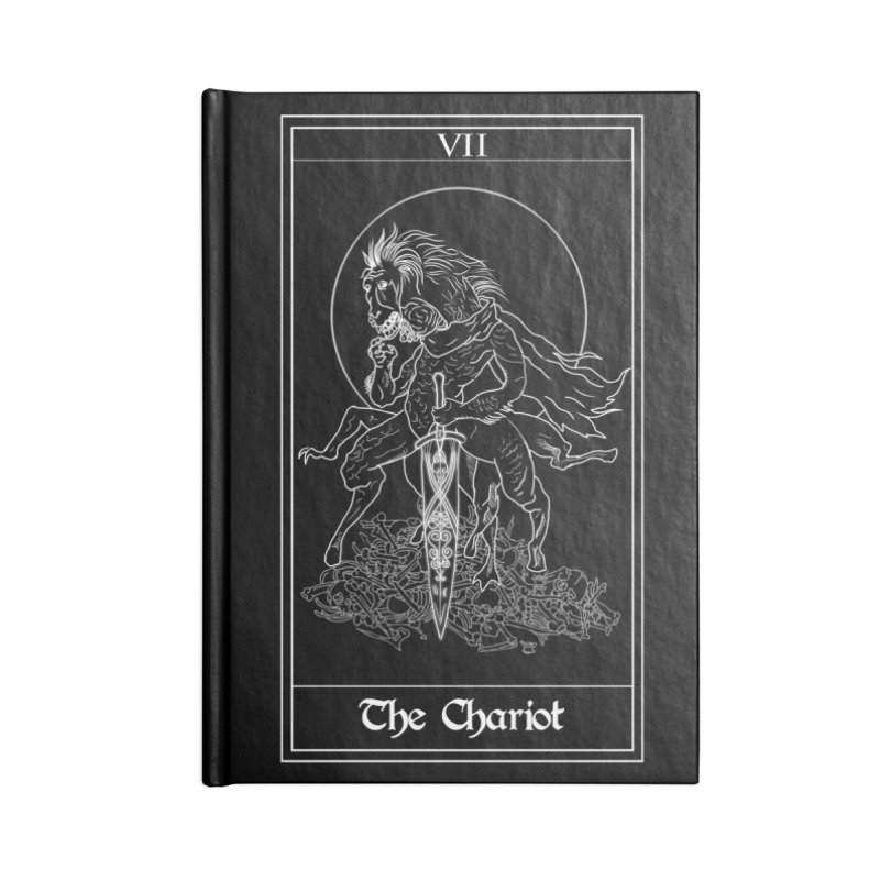 Ludwig The Accursed Accessories Lined Journal Notebook by marpeach's Artist Shop
