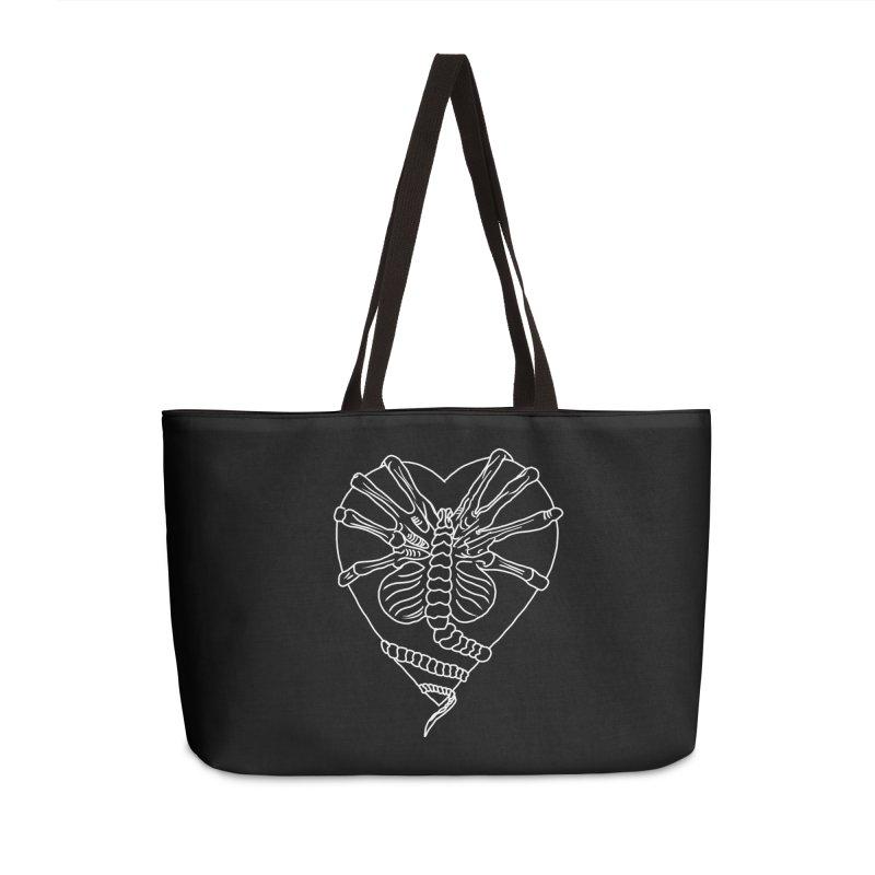 Facehugger Accessories Weekender Bag Bag by marpeach's Artist Shop