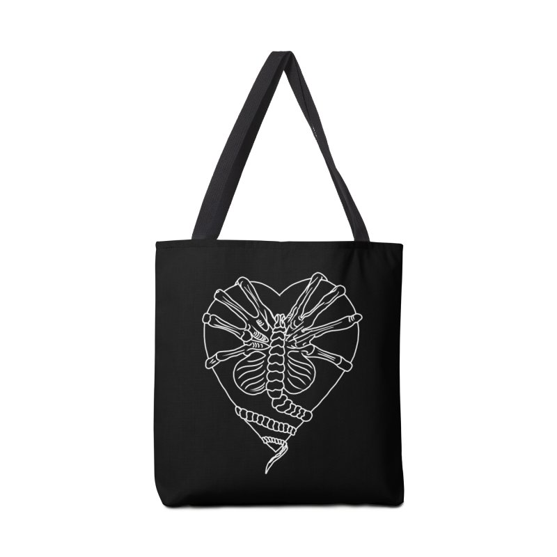 Facehugger Accessories Tote Bag Bag by marpeach's Artist Shop