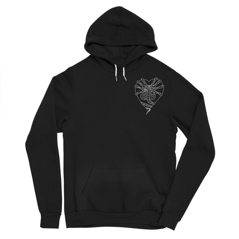 Facehugger Men's Sponge Fleece Pullover Hoody by marpeach's Artist Shop