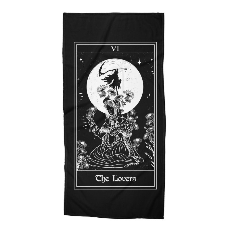The Lovers Accessories Beach Towel by marpeach's Artist Shop