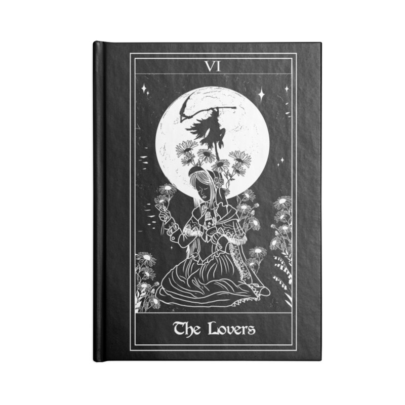 The Lovers Accessories Lined Journal Notebook by marpeach's Artist Shop