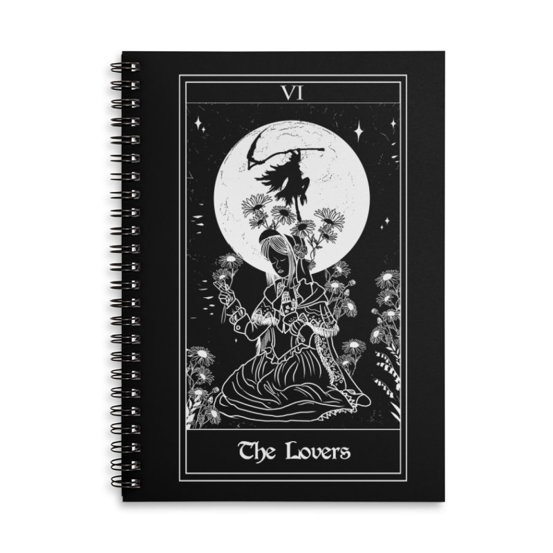 The Lovers Accessories Notebook by marpeach's Artist Shop