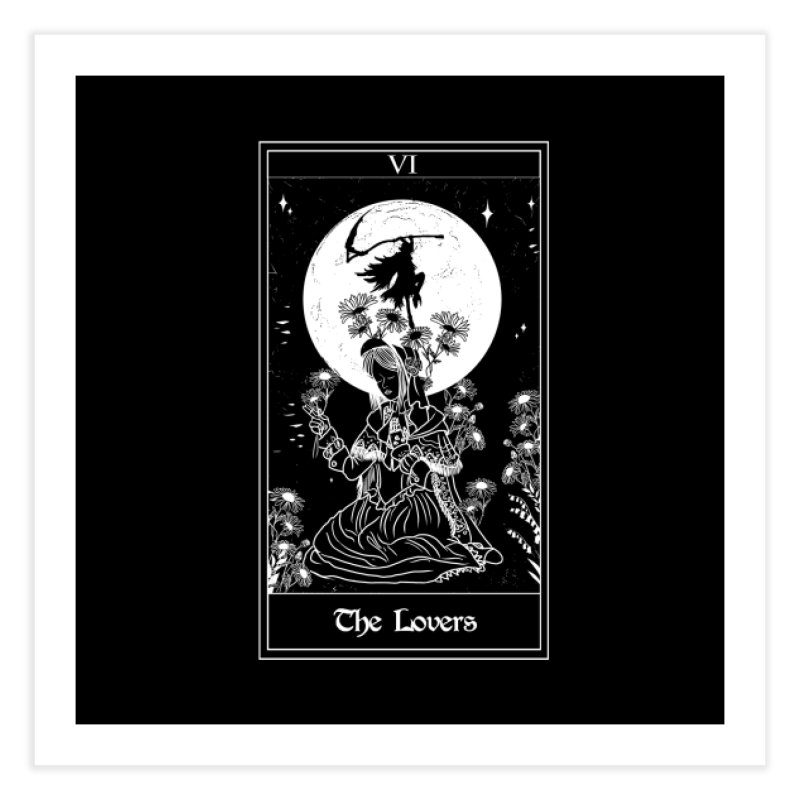 The Lovers Home Fine Art Print by marpeach's Artist Shop
