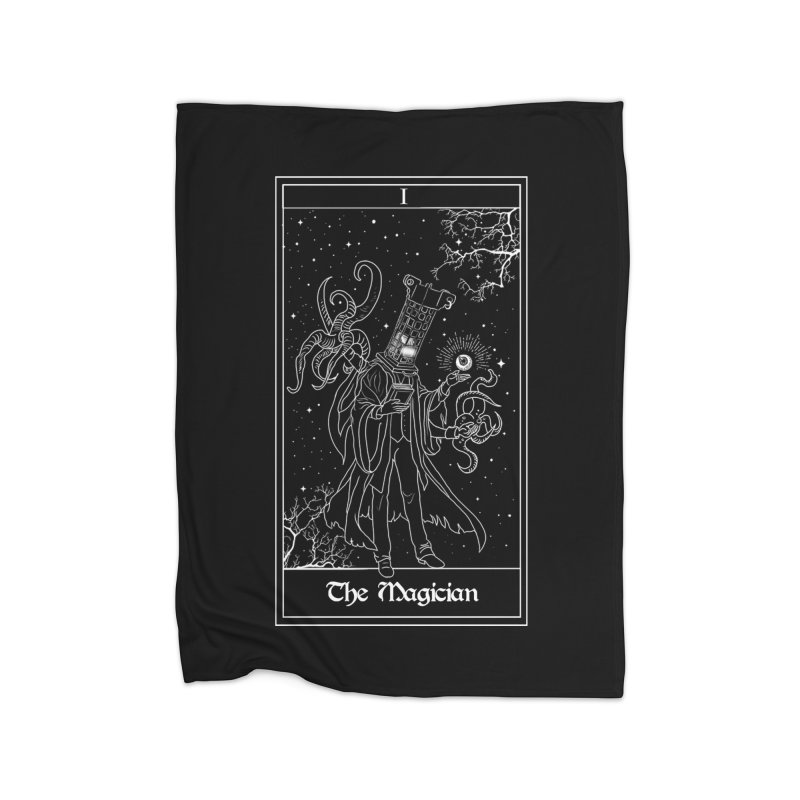 The Magician Home Fleece Blanket Blanket by marpeach's Artist Shop