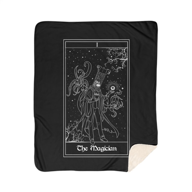 The Magician Home Sherpa Blanket Blanket by marpeach's Artist Shop