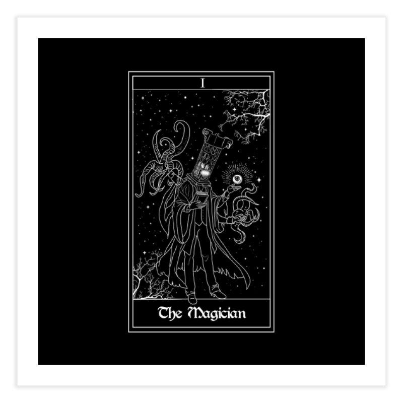 The Magician Home Fine Art Print by marpeach's Artist Shop