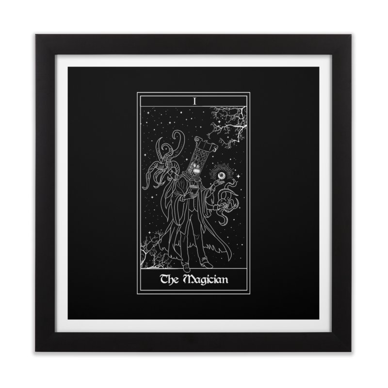 The Magician Home Framed Fine Art Print by marpeach's Artist Shop