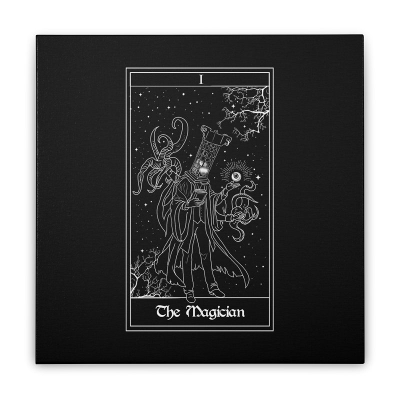 The Magician Home Stretched Canvas by marpeach's Artist Shop