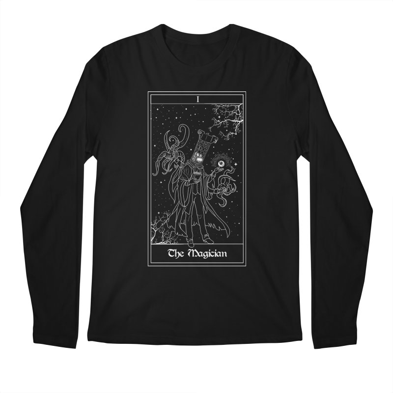 The Magician Men's Longsleeve T-Shirt by marpeach's Artist Shop