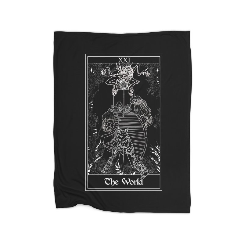 The World Home Fleece Blanket Blanket by marpeach's Artist Shop