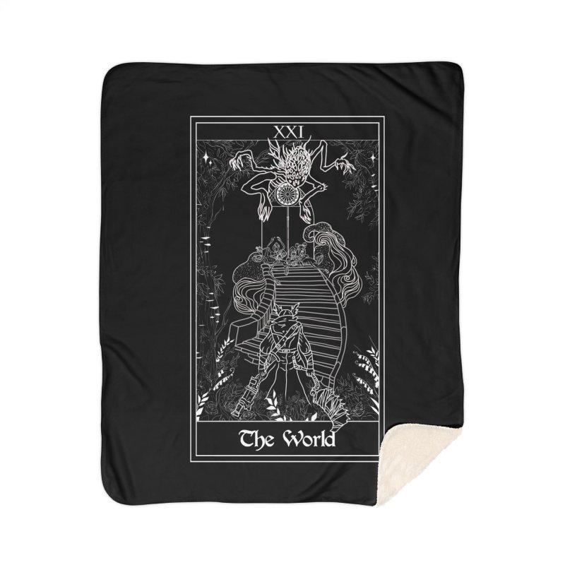 The World Home Sherpa Blanket Blanket by marpeach's Artist Shop