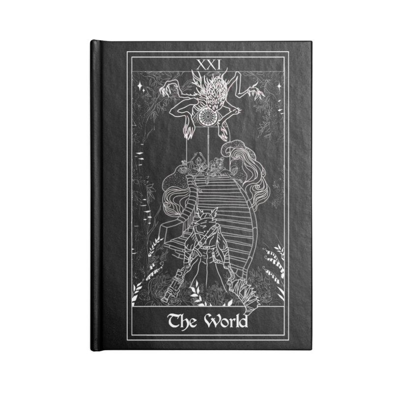 The World Accessories Blank Journal Notebook by marpeach's Artist Shop