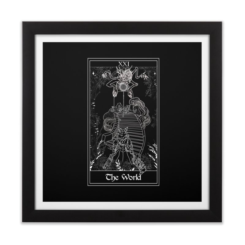 The World Home Framed Fine Art Print by marpeach's Artist Shop