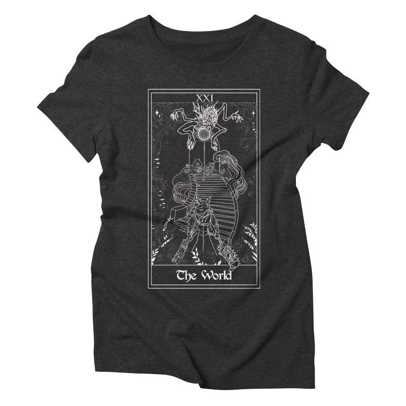 The World Women's Triblend T-Shirt by marpeach's Artist Shop