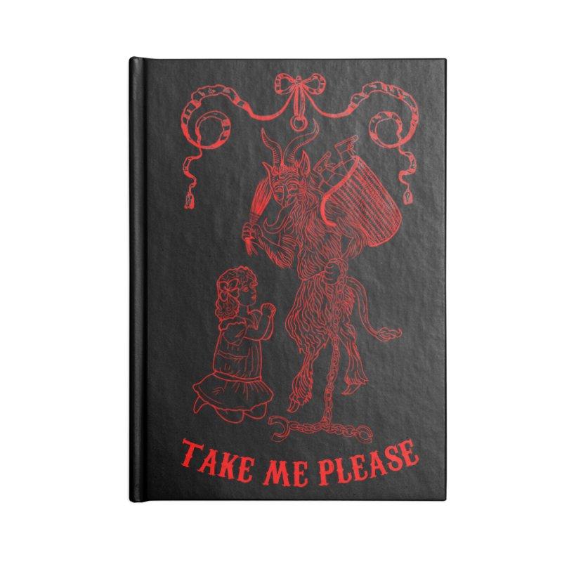 Krampus Accessories Blank Journal Notebook by marpeach's Artist Shop