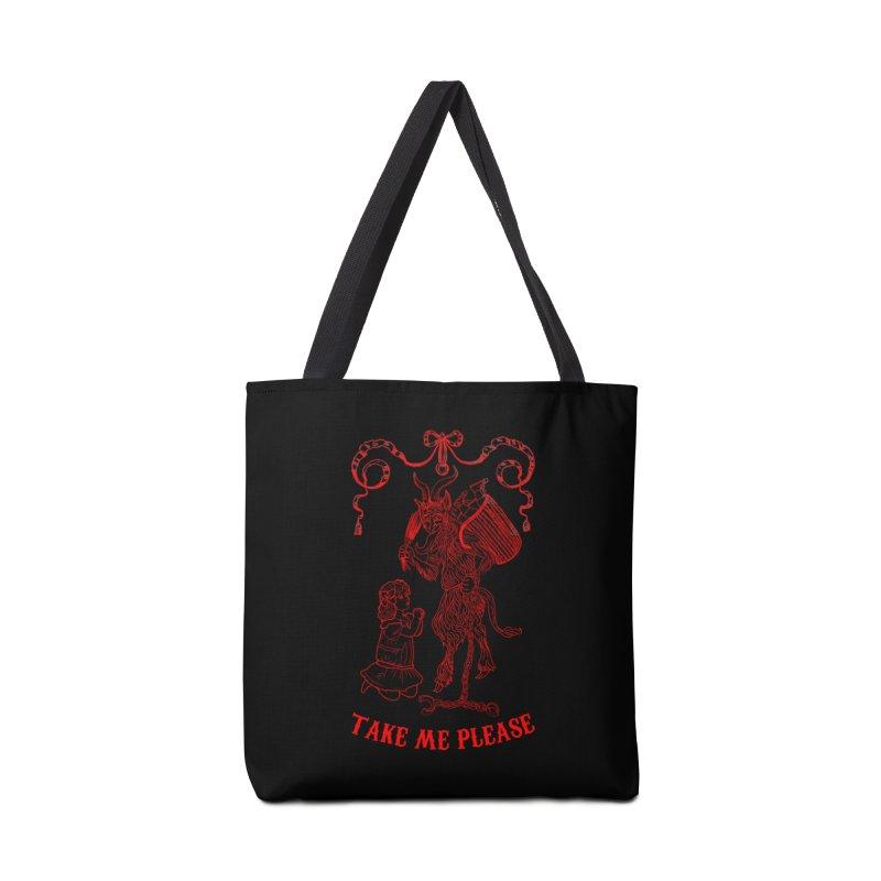 Krampus Accessories Tote Bag Bag by marpeach's Artist Shop
