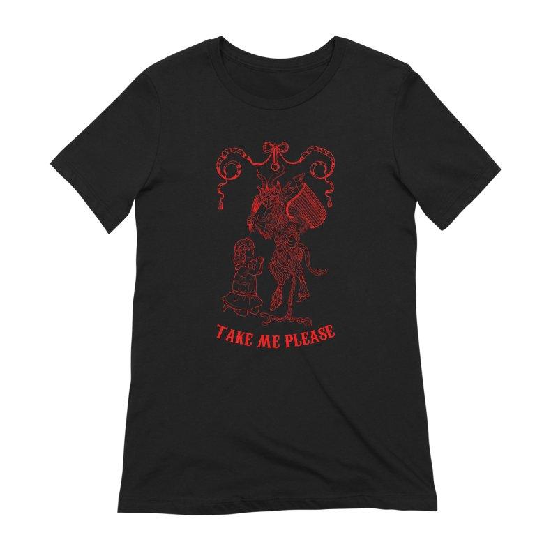 Krampus Women's Extra Soft T-Shirt by marpeach's Artist Shop