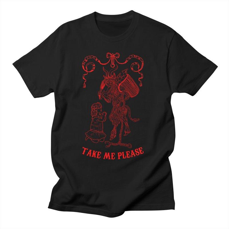 Krampus Men's T-Shirt by marpeach's Artist Shop
