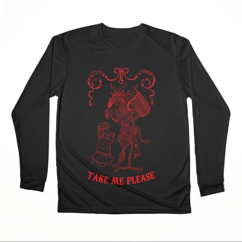 Krampus Women's Performance Unisex Longsleeve T-Shirt by marpeach's Artist Shop