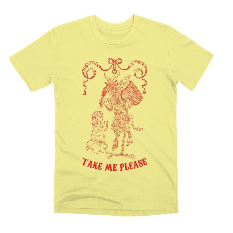 Krampus Men's Premium T-Shirt by marpeach's Artist Shop
