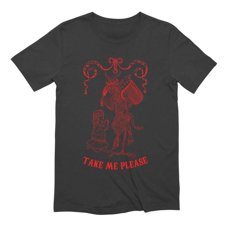 Krampus Men's Extra Soft T-Shirt by marpeach's Artist Shop