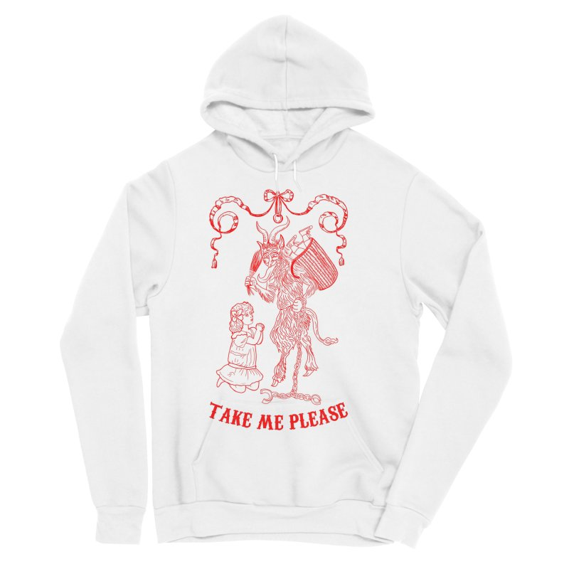 Krampus Men's Sponge Fleece Pullover Hoody by marpeach's Artist Shop