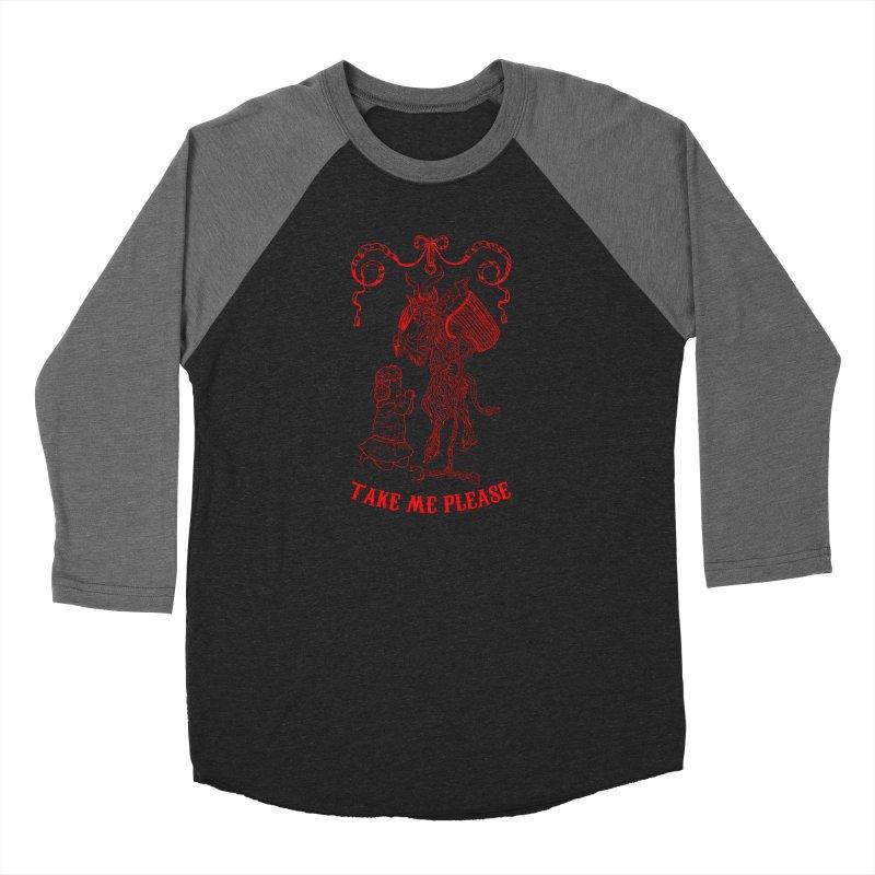 Krampus Women's Longsleeve T-Shirt by marpeach's Artist Shop