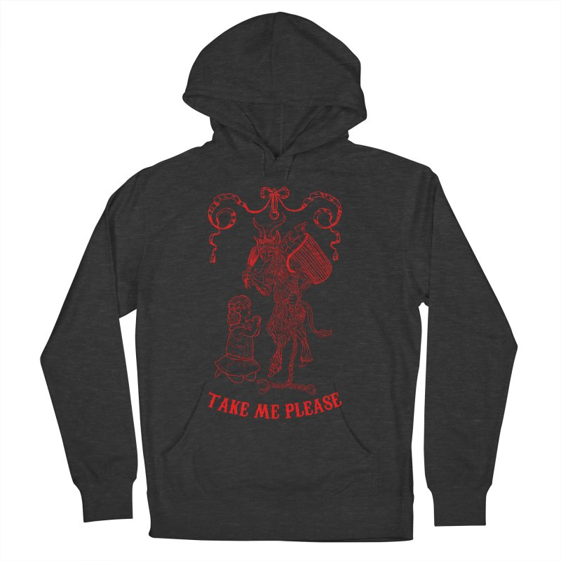 Krampus Women's French Terry Pullover Hoody by marpeach's Artist Shop