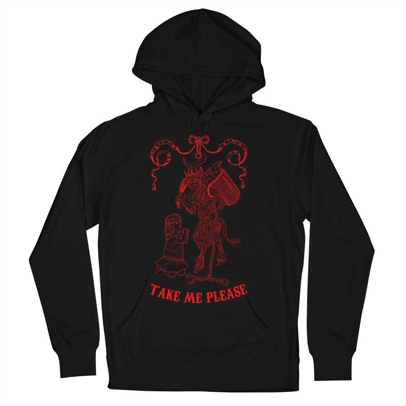 Krampus Men's French Terry Pullover Hoody by marpeach's Artist Shop
