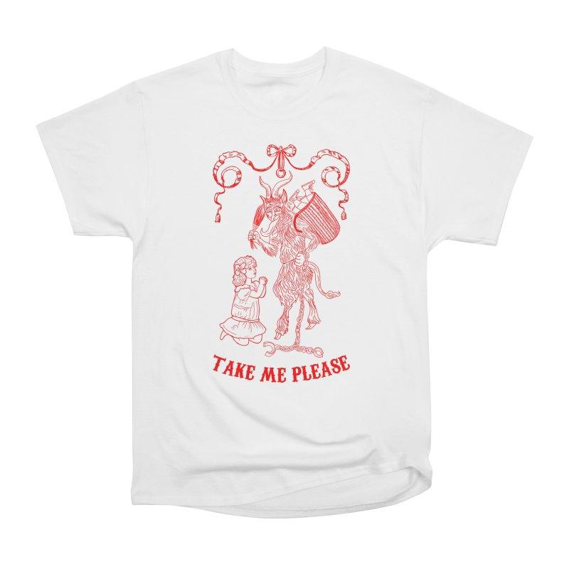 Krampus Men's Heavyweight T-Shirt by marpeach's Artist Shop