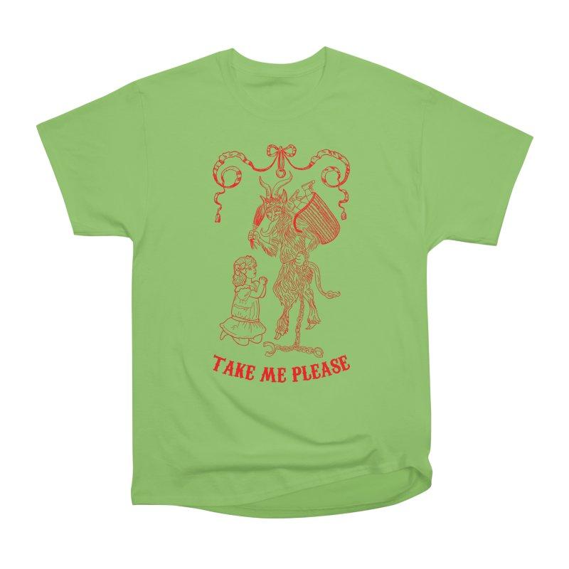 Krampus Women's Heavyweight Unisex T-Shirt by marpeach's Artist Shop