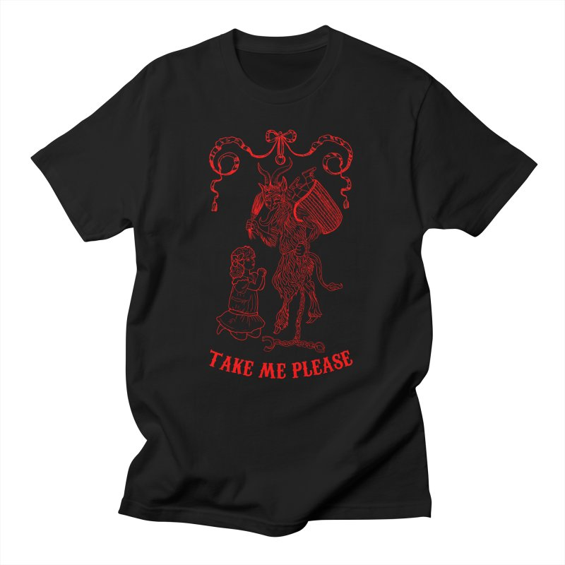 Krampus Women's Regular Unisex T-Shirt by marpeach's Artist Shop