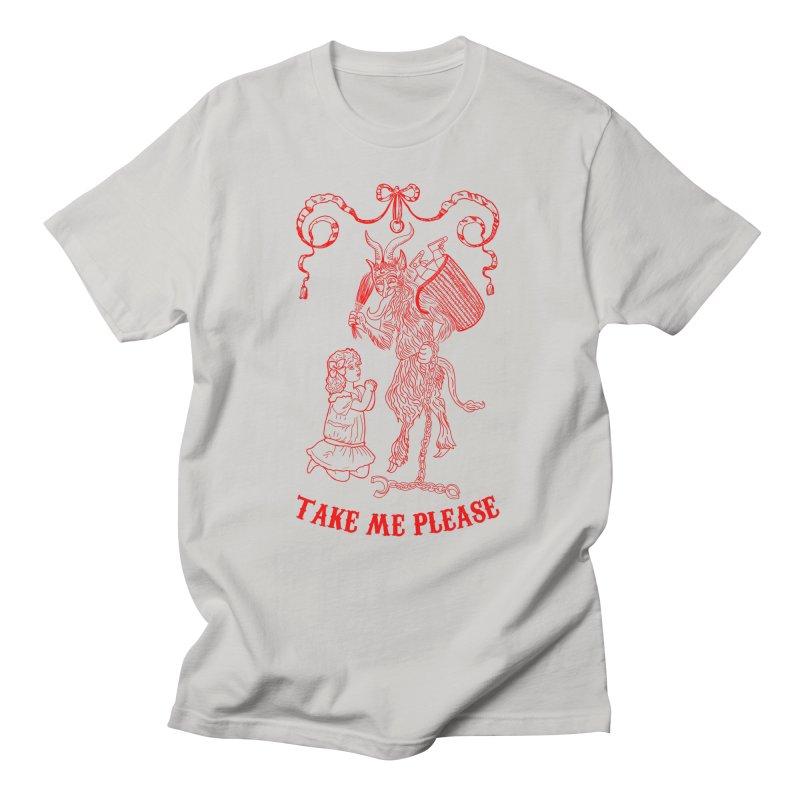 Krampus Men's Regular T-Shirt by marpeach's Artist Shop