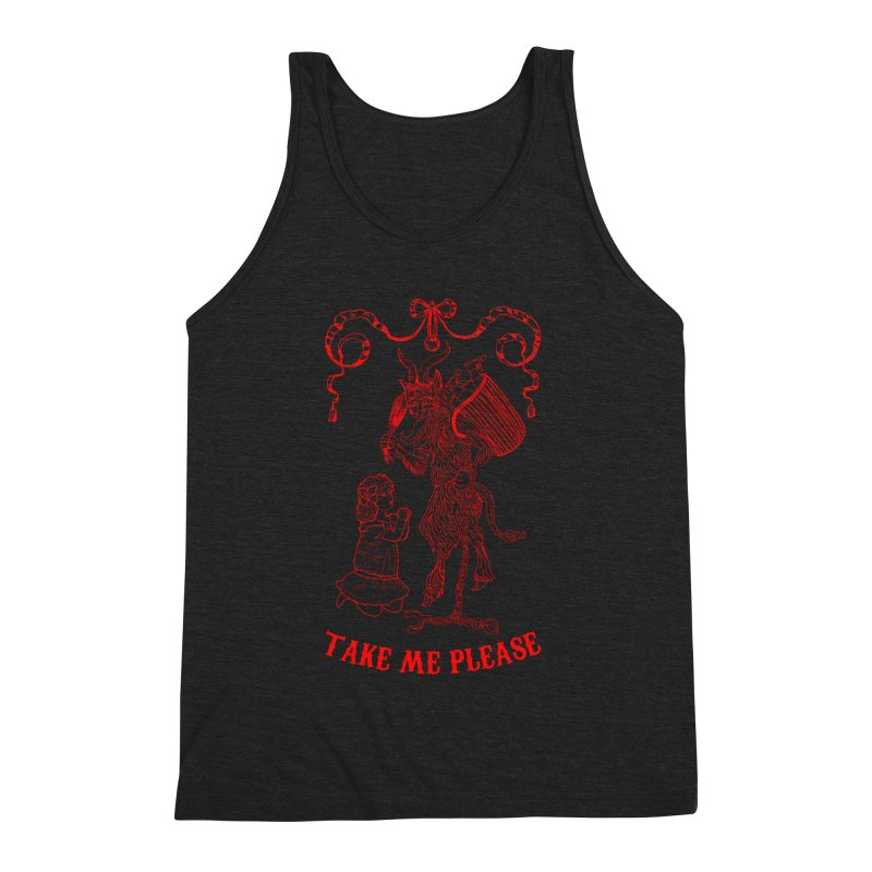 Krampus Men's Tank by marpeach's Artist Shop