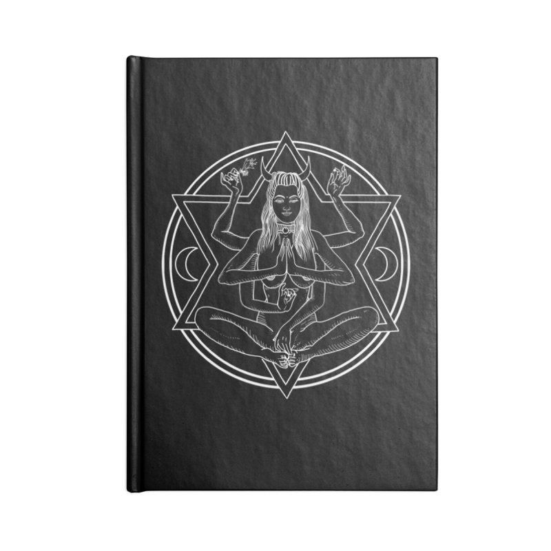 Meditation.. Accessories Lined Journal Notebook by marpeach's Artist Shop